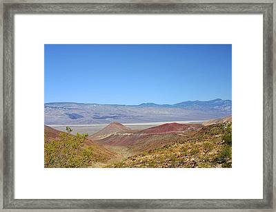 Death Valley National Park - Eastern California Framed Print by Christine Till