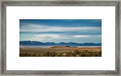 Death Valley Pano Framed Print