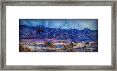 Death Valley Plains Framed Print