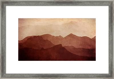 Death Valley Framed Print by Scott Norris