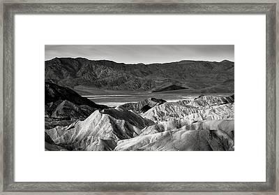 Death Valley Vista Framed Print by Joseph Smith