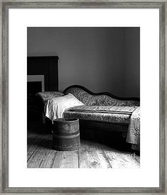 Death Watch  Framed Print