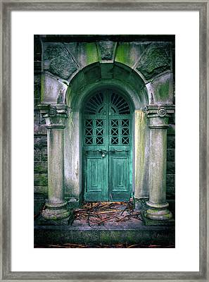 Death's Door Framed Print by Jessica Jenney