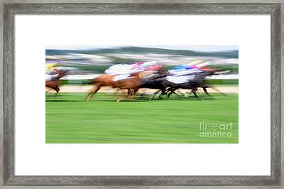 Deauville Framed Print by Delphimages Photo Creations