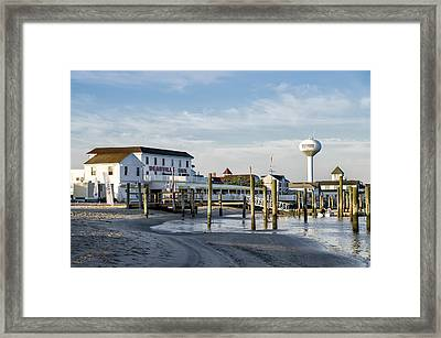 Deauville Inn - Strathmere New Jersey Framed Print by Bill Cannon
