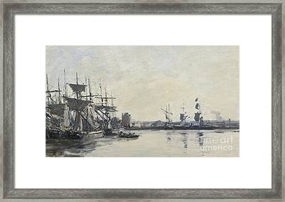 Deauville, Le Bassin Framed Print by Celestial Images