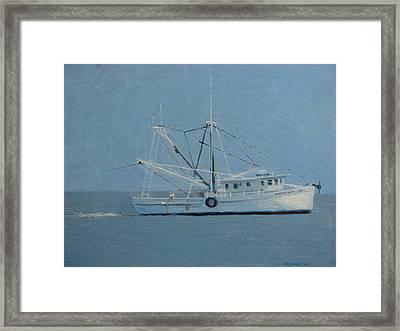 Deborah Ann Trawling Framed Print by Robert Rohrich
