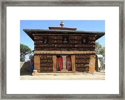 Debre Damo Monastery Framed Print