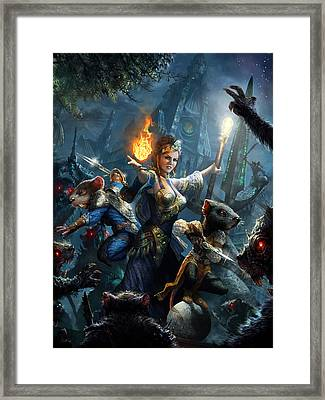 Debt Of The Ratonga Framed Print