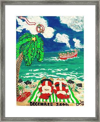 Dec. 26th 1996 Framed Print