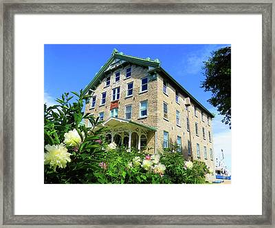 Dec Building Cape Vincent Ny Framed Print