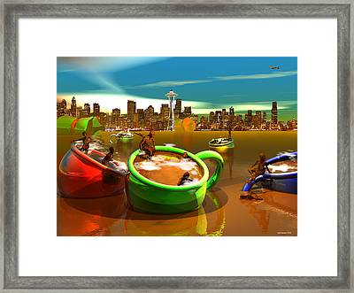 Decaffeinated Framed Print by Williem McWhorter