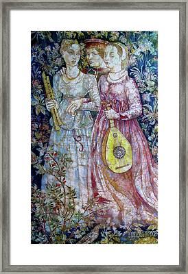 Decameron Framed Print by Tanya Ilyakhova