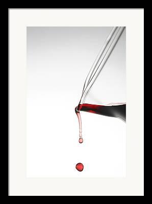 Pinot Noir Photographs Framed Prints