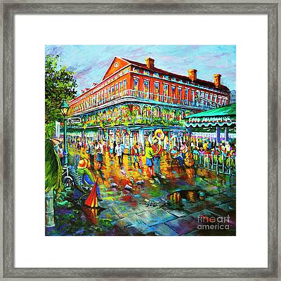 Decatur Evening Framed Print