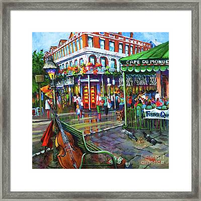 Decatur Street Framed Print