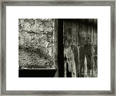 Decay Framed Print by Jeff Breiman