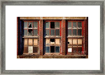 Decayed Framed Print by Olivier Le Queinec
