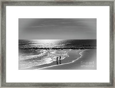December At The Jersey Shore Framed Print