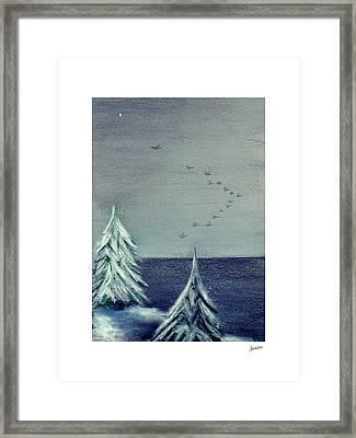 December Dawn Framed Print by Gary Jameson