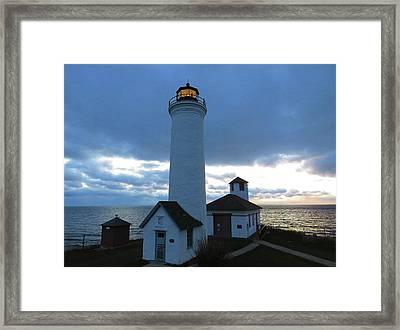 December Light, Tibbetts Point  Framed Print