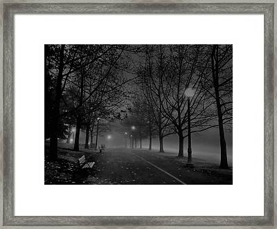 December Morning In Riverfront Park - Spokane Washington Framed Print by Daniel Hagerman