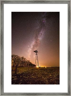 December Night  Framed Print
