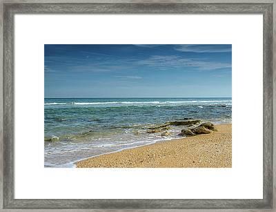 December Ocean Framed Print