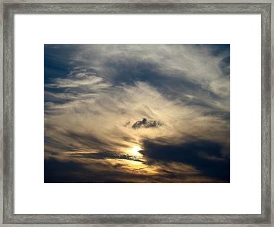 December Sky Framed Print by Ana Villaronga