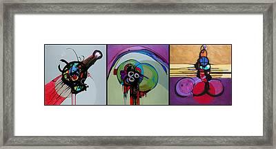 December Trilogy Framed Print