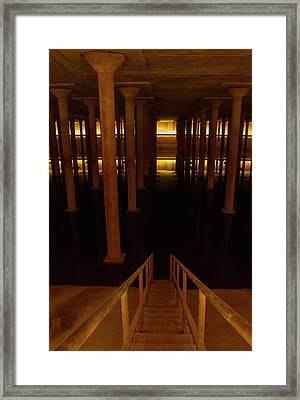 Framed Print featuring the photograph Decent To The Styx by Joshua House