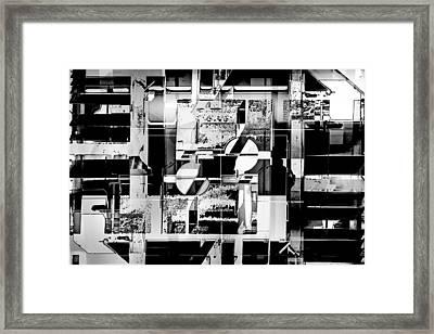 Decentralized Framed Print
