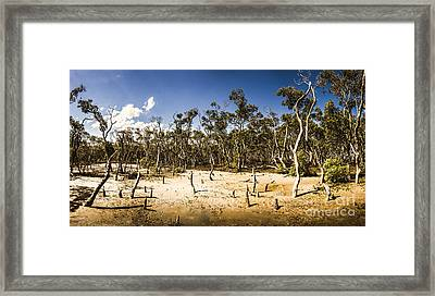 Deception Bay Conservation Park Framed Print