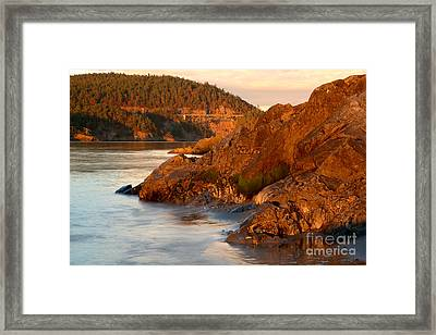 Deception Pass Landscape Framed Print