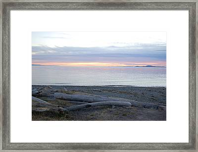 Deception Pass State Park Framed Print by Robert Ashbaugh