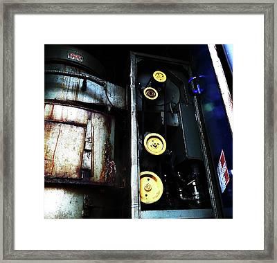 Framed Print featuring the photograph Decide by Cyryn Fyrcyd