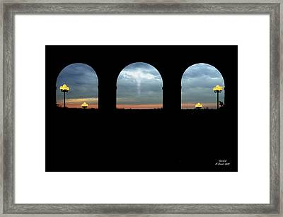 Decisions Framed Print by Albert Stewart