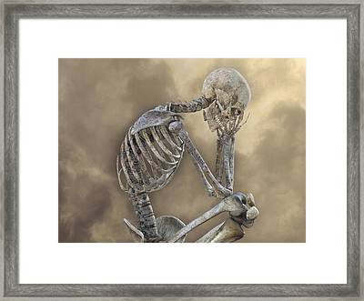 Decisions Framed Print by Betsy Knapp