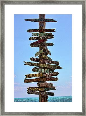 Decisions Framed Print by Joetta West