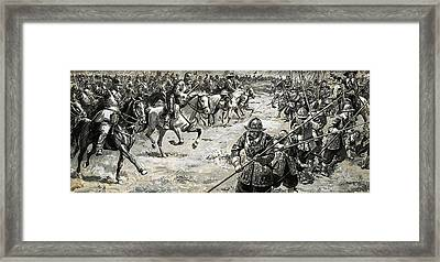 Decisive Battles  Where King Charles Lost His Crown Framed Print by CL Doughty
