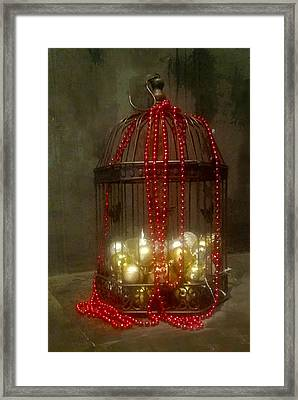 Decking The Halls Framed Print by Susan Vineyard