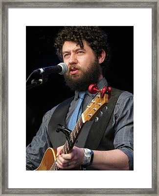 Declan O'rourke Framed Print by Julie Turner