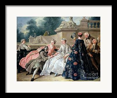 1752 Framed Prints