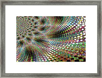 Deco A Go Go Framed Print by Maria  Wall