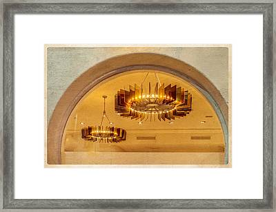 Deco Arches Framed Print