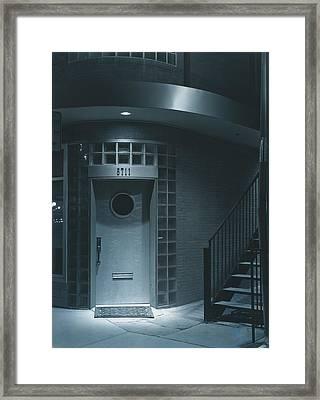 Deco Details At Midnight Framed Print by Jim Furrer