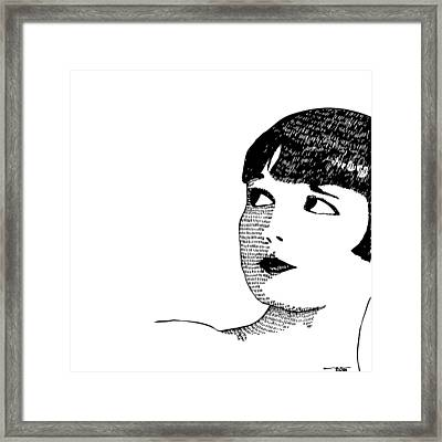 Deco Women Framed Print by Karl Addison
