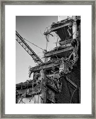 Deconstructed Framed Print by Philip Openshaw