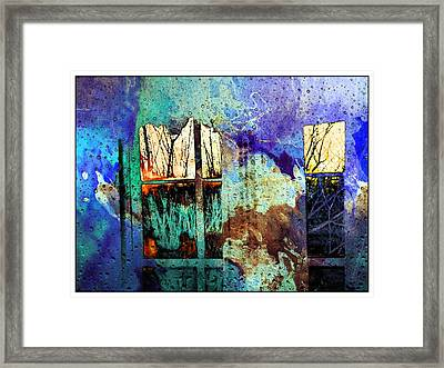 Deconstruction #33 Framed Print