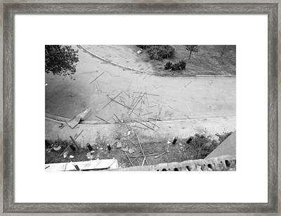 Deconstruction Framed Print
